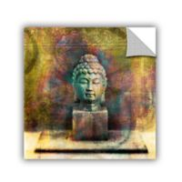 Buddha 14-Inch Square Vinyl Wall Decal