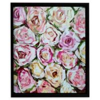 Box of Roses 18-Inch Square Framed Wall Art