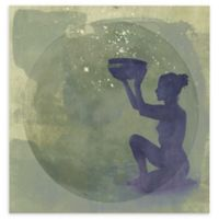 Astral Goddess 10-Inch Square Canvas Wall Art