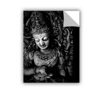 ArtWall Buddha 14-Inch x 18-Inch Wall Art