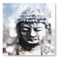 Peaceful Buddha 14-Inch Square Canvas Wall Art