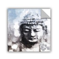 ArtWall Peaceful Buddha 14-Inch x 14-Inch Wall Decal