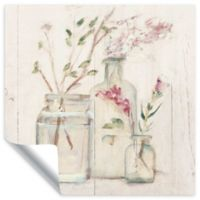 Blossoms on Birch 24-Inch Square Wall Decal