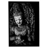 Buddha 10-Inch x 8-Inch Framed Canvas Wall Art