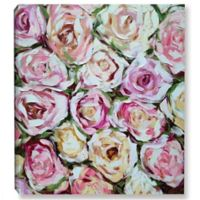 ArtWall Box of Roses 10-Inch x 10-Inch-Inch Canvas Wall Art
