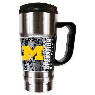 693e16cce76 University of Michigan Operation Hat Trick™ 20 oz. Stainless Steel Travel  Mug