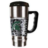Michigan State University Operation Hat Trick™ 20 oz. Stainless Steel Travel Mug