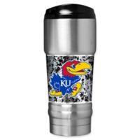 University of Kansas Operation Hat Trick™ 18 oz. Stainless Steel Travel Mug
