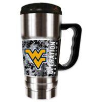West Virginia University Operation Hat Trick™ 20 oz. Stainless Steel Travel Mug