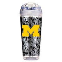 University of Michigan Operation Hat Trick™ 24 oz. Clear Acrylic Travel Tumbler