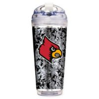 University of Louisville Operation Hat Trick™ 24 oz. Clear Acrylic Travel Tumbler
