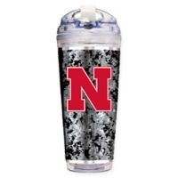 University of Nebraska Operation Hat Trick™ 24 oz. Clear Acrylic Travel Tumbler