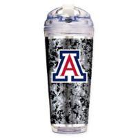 University of Arizona Operation Hat Trick™ 24 oz. Clear Acrylic Travel Tumbler