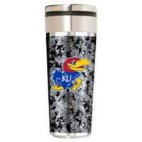 University of Kansas Operation Hat Trick™ 22 oz. Stainless Steel Travel Tumbler