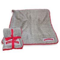 University of Wisconsin-Madison Frosty Fleece Throw Blanket