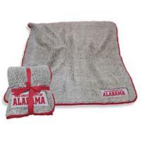 University of Alabama Frosty Fleece Throw Blanket