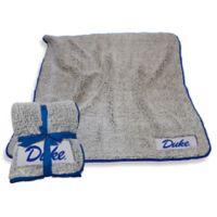 Duke University Frosty Fleece Throw Blanket