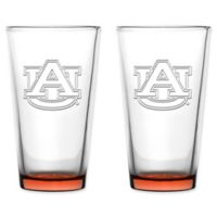 Auburn University Embossed Pint Glasses (Set of 2)