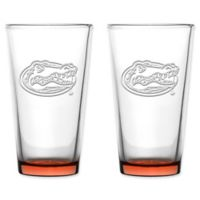 University of Florida Embossed Pint Glasses (Set of 2)