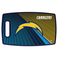 NFL Los Angeles Chargers 9.5-Inch x 14.5-Inch Polypropylene Cutting Board
