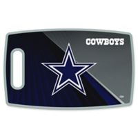 NFL Dallas Cowboys 9.5-Inch x 14.5-Inch Polypropylene Cutting Board