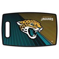 NFL Jacksonville Jaguars 9.5-Inch x 14.5-Inch Polypropylene Cutting Board