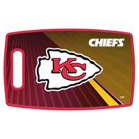 NFL Kansas City Chiefs 9.5-Inch x 14.5-Inch Polypropylene Cutting Board