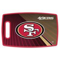 NFL San Francisco 49ers 9.5-Inch x 14.5-Inch Polypropylene Cutting Board