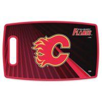NHL Calgary Flames 9.5-Inch x 14.5-Inch Polypropylene Cutting Board
