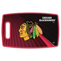 NHL Chicago Blackhawks 9.5-Inch x 14.5-Inch Polypropylene Cutting Board