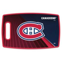 NHL Montreal Canadiens 9.5-Inch x 14.5-Inch Polypropylene Cutting Board