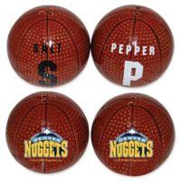 NBA Denver Nuggets Basketball Jersey Salt & Pepper Shakers Set