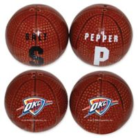 NBA Oklahoma Thunder Basketball Jersey Salt & Pepper Shakers Set