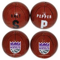 NBA Sacramento Kings Basketball Jersey Salt & Pepper Shakers Set