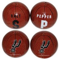 NBA San Antonio Spurs Basketball Jersey Salt & Pepper Shakers Set