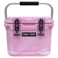 Camp-Zero 10 Liter Premium Cooler in Pink/White