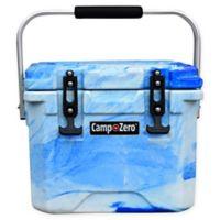 Camp-Zero 10 Liter Premium Cooler in Blue Swirl