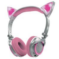 Sharper Image™ LED Cat Ear Bluetooth Headphones