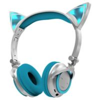aa2fae7c6d1 Sharper Image™ LED Cat Ear Bluetooth Headphones