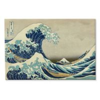 The Great Wave Off Kanagawa 8-Inch x 10-Inch Canvas Wall Art