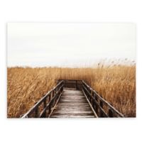 Studio Brookview Fall Walk 16-Inch x 24-Inch Canvas Wall Art