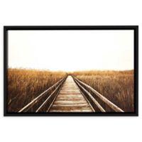 Fall Walk I 32-Inch x 48-Inch Framed Wall Art