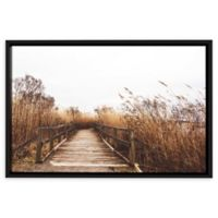 Fall Walk II 36-Inch x 48-Inch Framed Wall Art