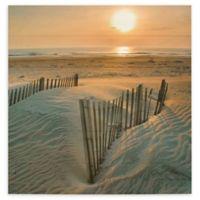 ArtWall Sunrise Over Hatteras 24-Inch Wood Pallet Wall Art
