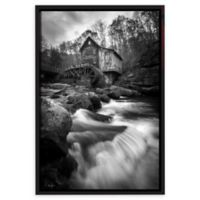 Glade Creek Grist Mill 8-Inch x 12-Inch Gallery Wrapped Canvas Photographic Wall Art