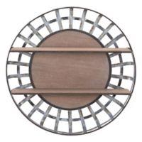 Zuo® Shelf Wall Decor in Brown