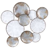 Zuo Modern Sombra Metal Wall Art in Grey
