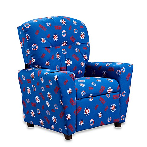 Official Mlb 174 Kids Recliner In Chicago Cubs Bed Bath