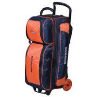 NFL Denver Broncos Triple Roller Bowling Bag