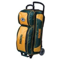 NFL Green Bay Packers Triple Roller Bowling Bag